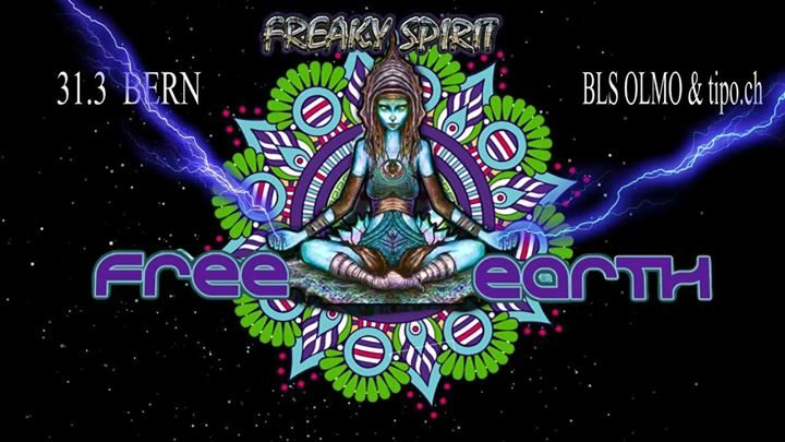 Party Flyer Free Earth Spirit Bern with ConwerterAnalogMindsRhino and more 31 Mar '18, 21:00