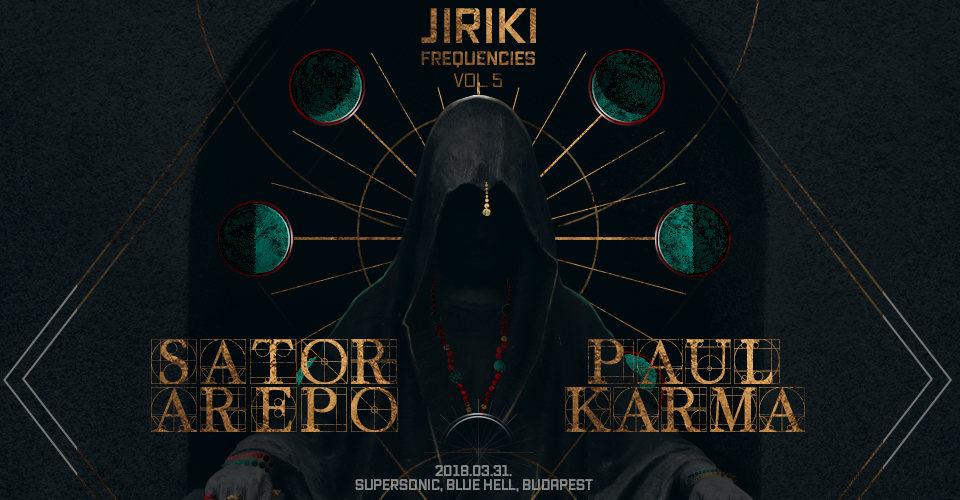 Party Flyer Goázis presents: Jiriki Frequencies w/ Sator Arepo (GER) & Paul Karma (GRE) 31 Mar '18, 22:00