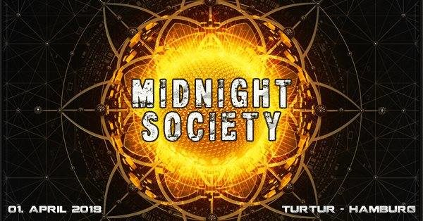 Midnight Society (Psychedelic Trance Event) 1 Apr '18, 23:00