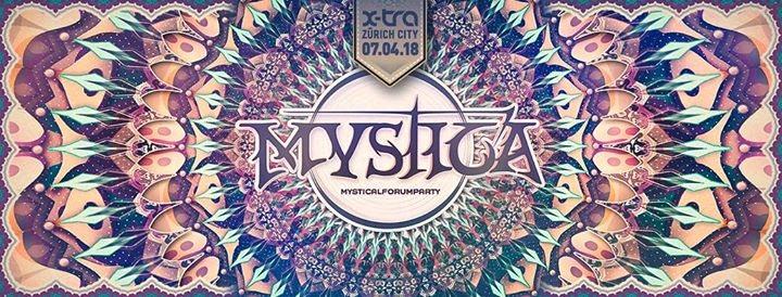Party Flyer Mystica 2018 7 Apr '18, 21:00