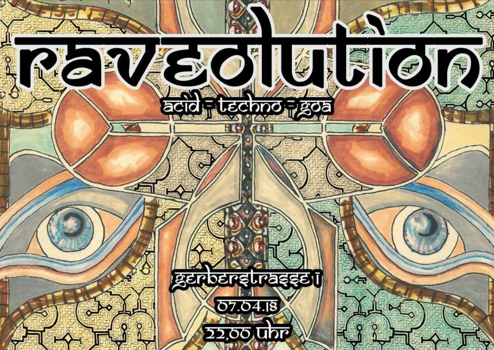 Party Flyer Raveolution 7 Apr '18, 22:00