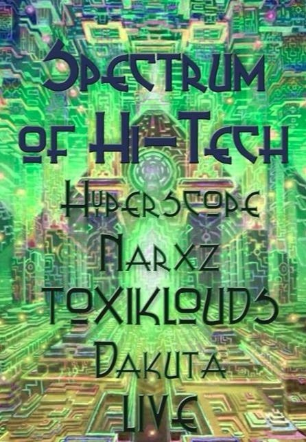 Party Flyer Spectrum of Hi Tech 7 Apr '18, 21:00