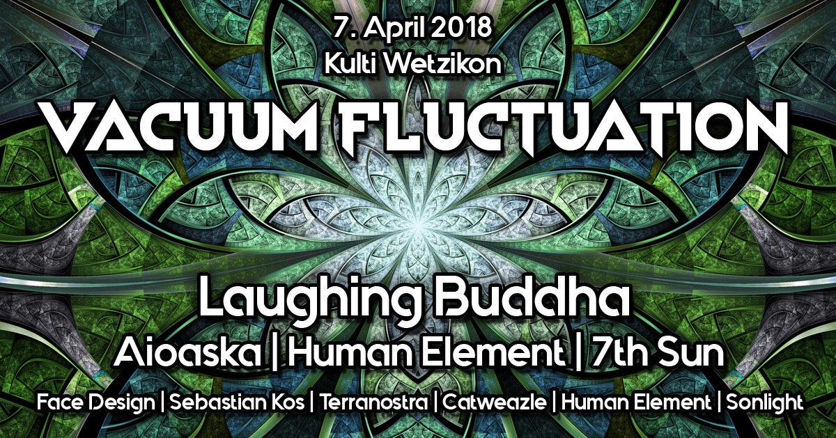 Party Flyer Vacuum Fluctuation 7 Apr '18, 22:00