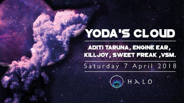 Party Flyer Yoda's Cloud 7 Apr '18, 21:00