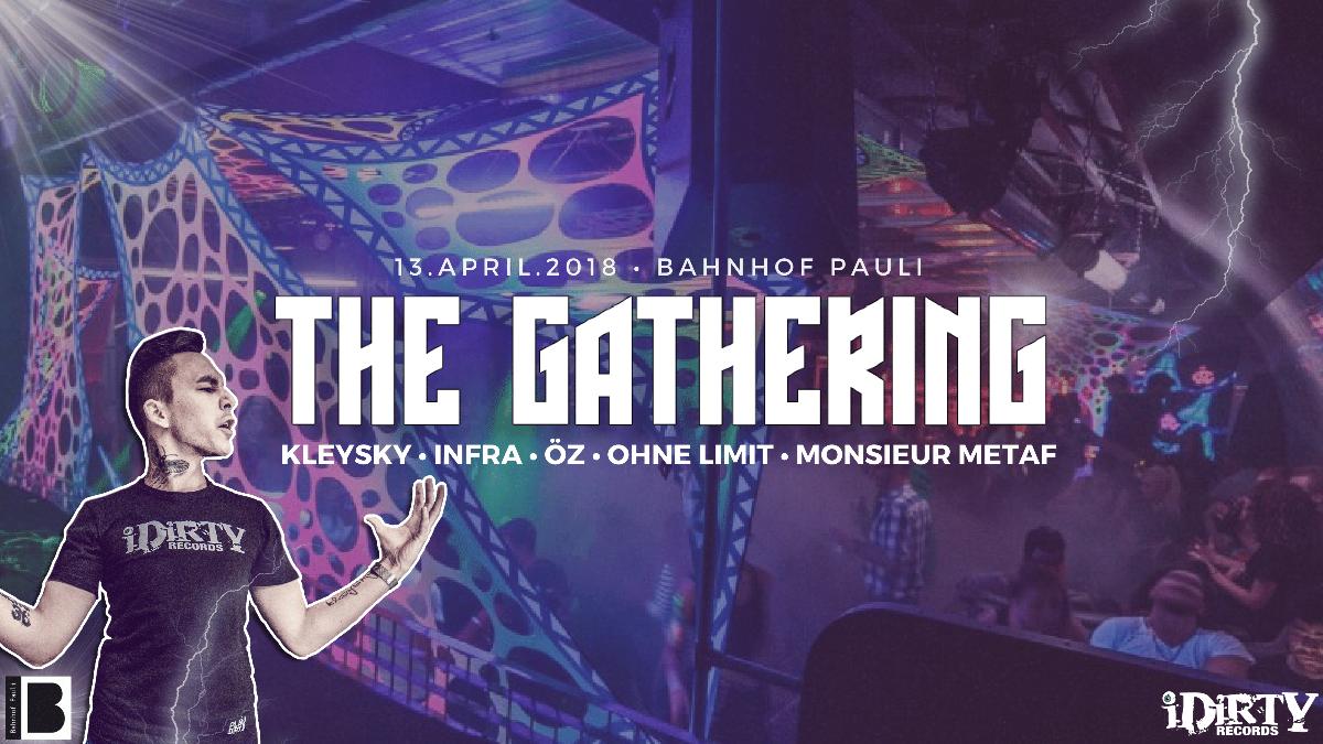 Party Flyer The Gathering Vol.3 • Kleysky • Infra 13 Apr '18, 23:00