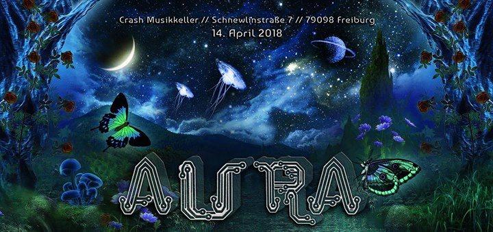 Party Flyer AURA 14 Apr '18, 23:00