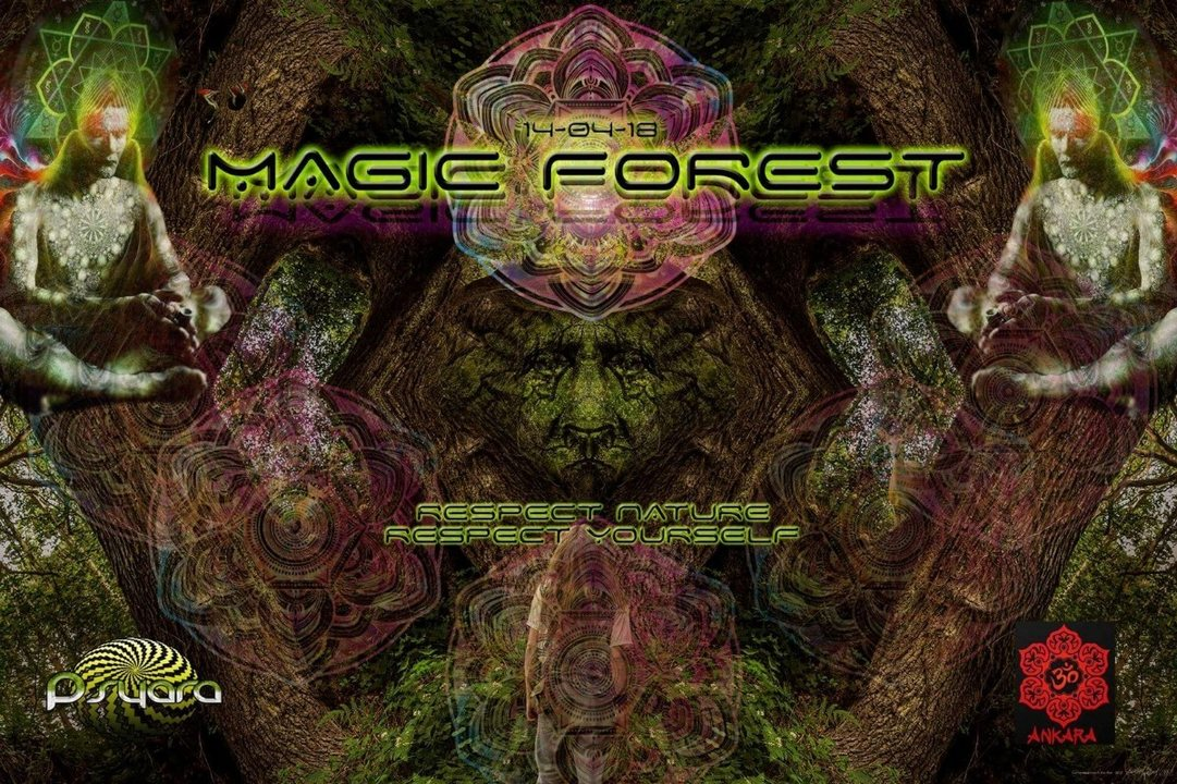 Party Flyer Magic Forest 14 Apr '18, 20:00