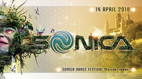 Party Flyer Sonica Dance Festival Teaser Marche 14 Apr '18, 22:00