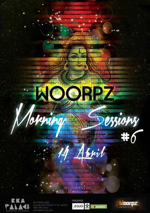 Party Flyer Woorpz Morning Sessions #6 14 Apr '18, 06:00