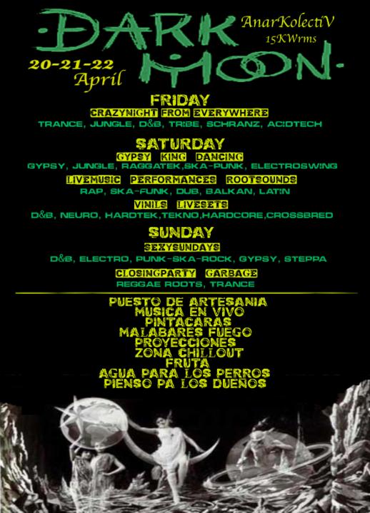 Party Flyer ::;;DarK MooN;;:: 20 Apr '18, 22:00