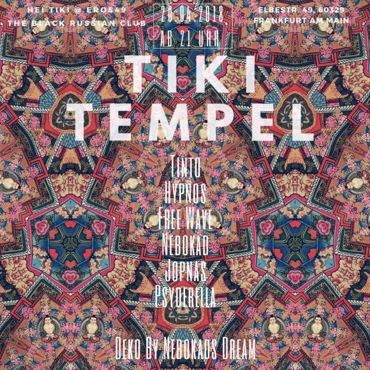Party Flyer Tiki Tempel 20 Apr '18, 21:00