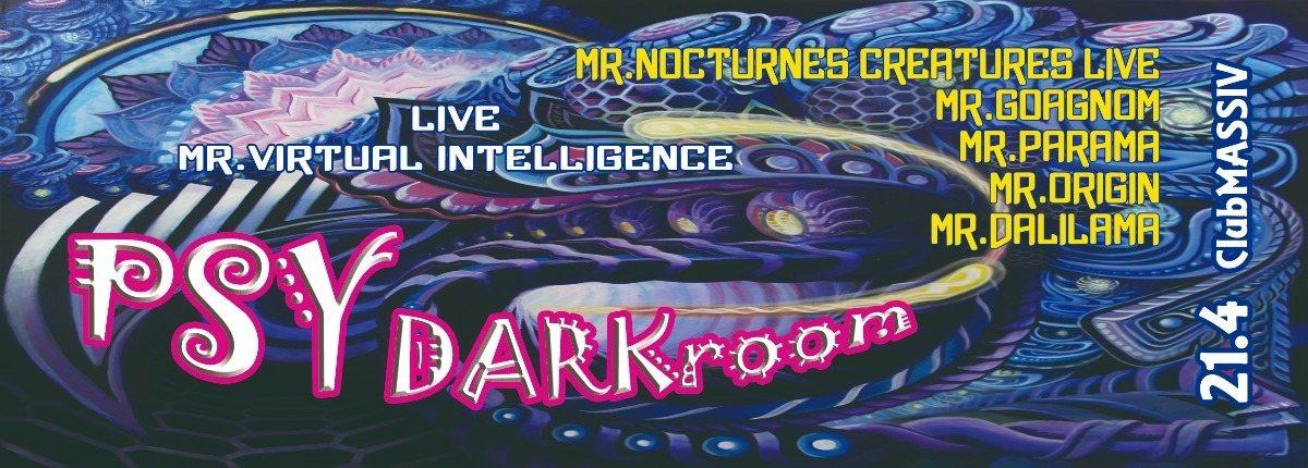 Party Flyer PSY-DARKroom >> 12hours nonstop party << 21 Apr '18, 22:30