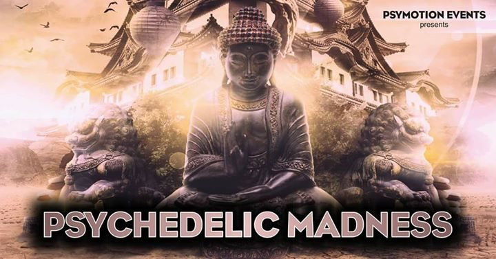 Party Flyer Psychedelic Madness - Vol. 5 27 Apr '18, 23:00