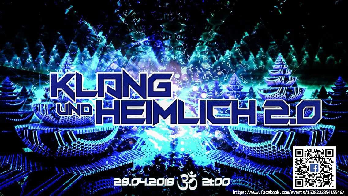 Party Flyer Klang und Heimlich 2.0 28 Apr '18, 21:00