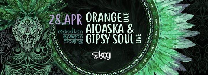 Party Flyer Mondton Season Closing w/ Orange live 28 Apr '18, 21:00