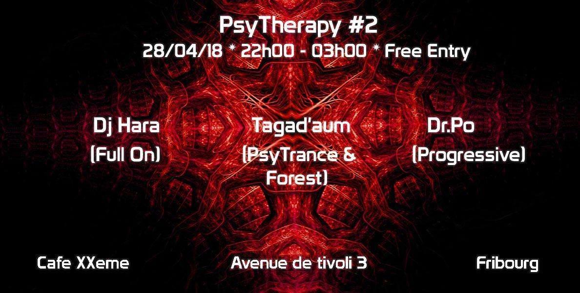 Party Flyer PsyTherapy #2 28 Apr '18, 22:00