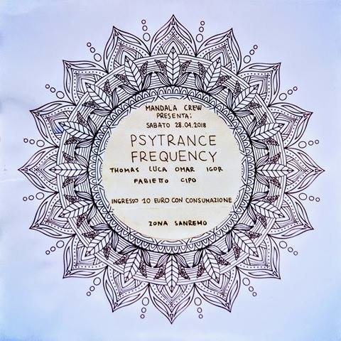 Party Flyer Psytrance Frequency 28 Apr '18, 22:00