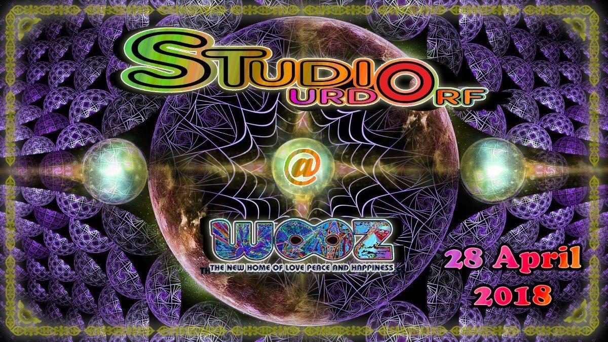 Party Flyer ☆☆ Studio Urdorf meets Wooz Club ☆☆ 28 Apr '18, 22:00