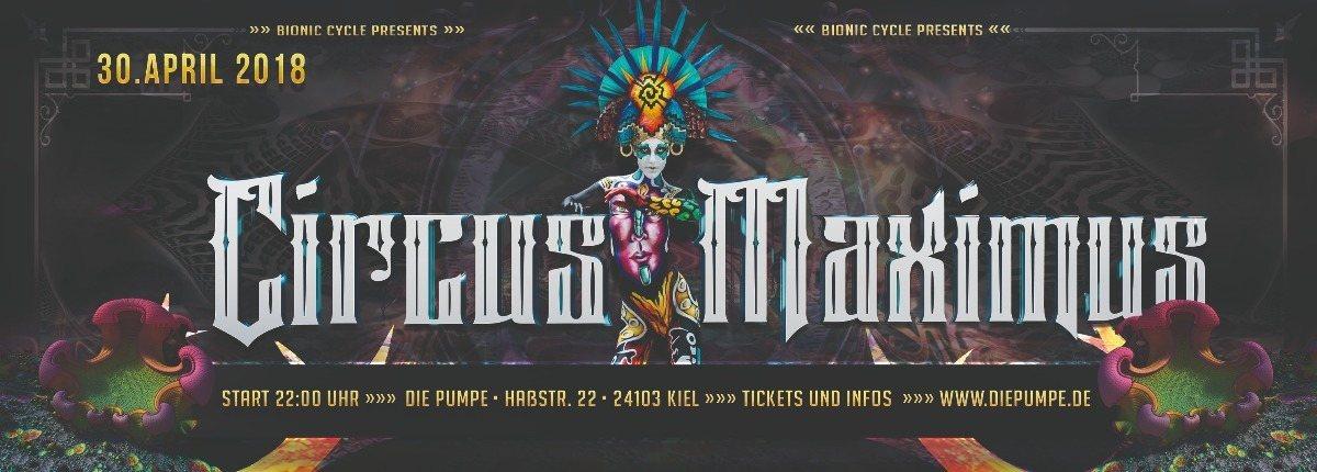 Party Flyer Circus Maximus 2018 30 Apr '18, 22:00