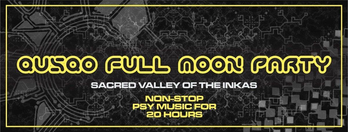 Party Flyer QUSQO FULL MOON PARTY 30 Apr '18, 17:00