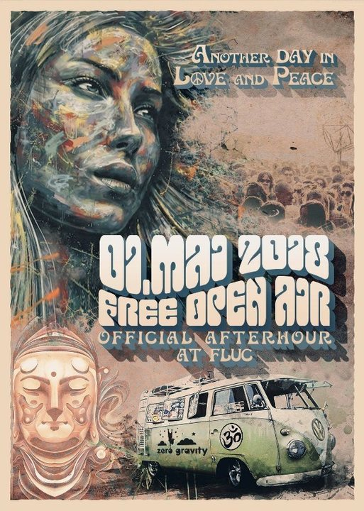 Party Flyer Offical 1.Mai Free Open Air Afterparty 1 May '18, 23:00