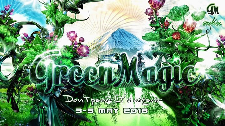 Party Flyer Green Magic 2018 3 May '18, 13:00