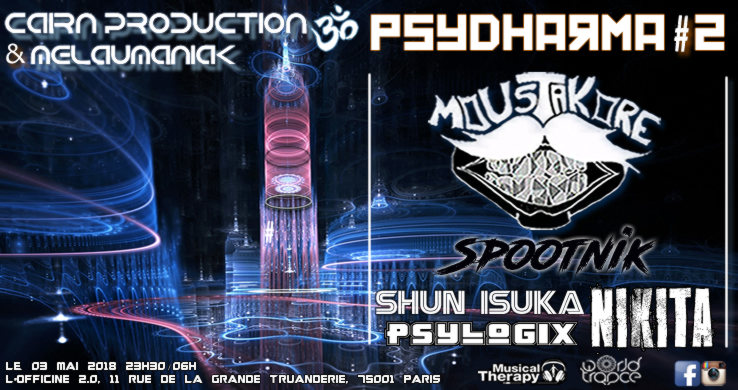 Party Flyer PsyDharma #2 3 May '18, 23:30