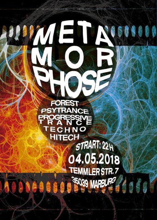 Party Flyer Metamorphose II 4 May '18, 22:00