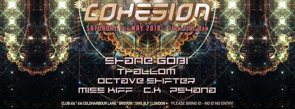 Party Flyer Cohesion 5 May '18, 23:00