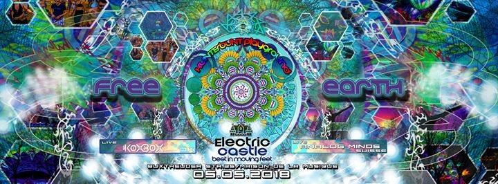 Party Flyer Free Earth Spirit ( Hamburg ) - Koxbox / AnalogMinds and more 5 May '18, 21:00