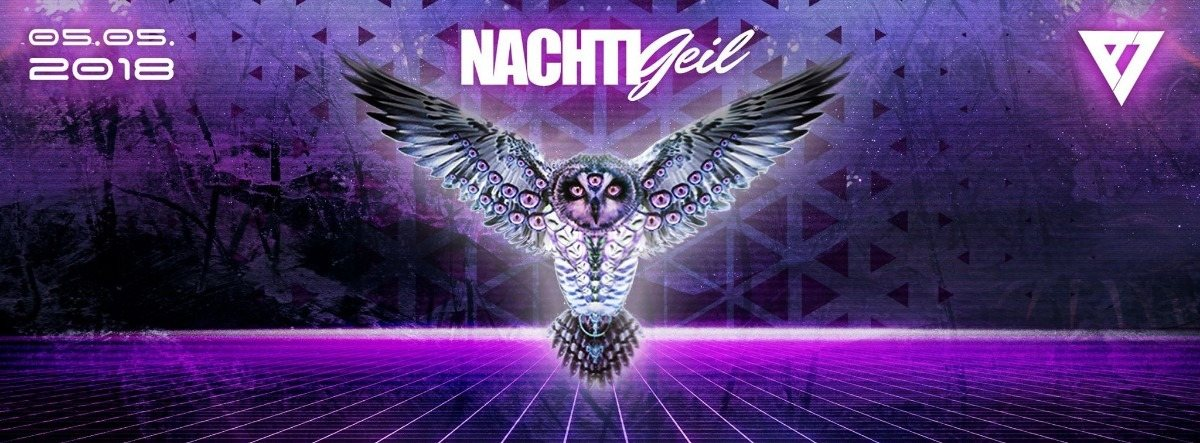 Party Flyer NachtiGeil 5 May '18, 23:30