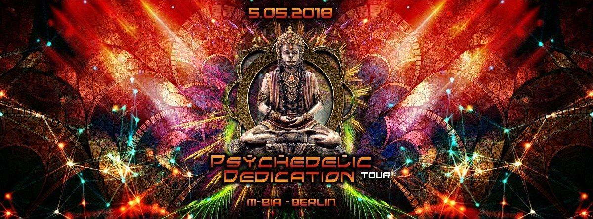 Party Flyer Psychedelic Dedication on Tour // Berlin // DoubKore, Locoweed, Kleysky 5 May '18, 23:00