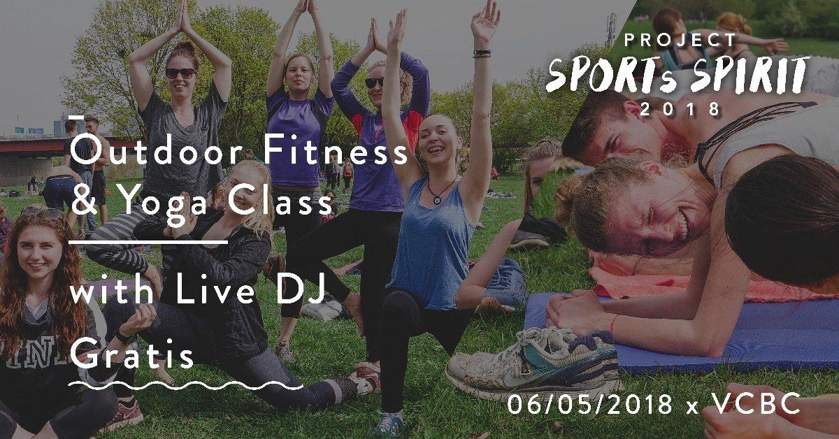 Party Flyer Sports Spirit vol. 2 Psy-Workout & Yoga mit Fullip 6 May '18, 12:00