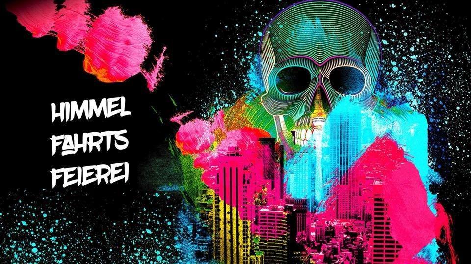 Party Flyer AMP´s Herrentagsstampf (Psytrance & Techno) 10 May '18, 22:00
