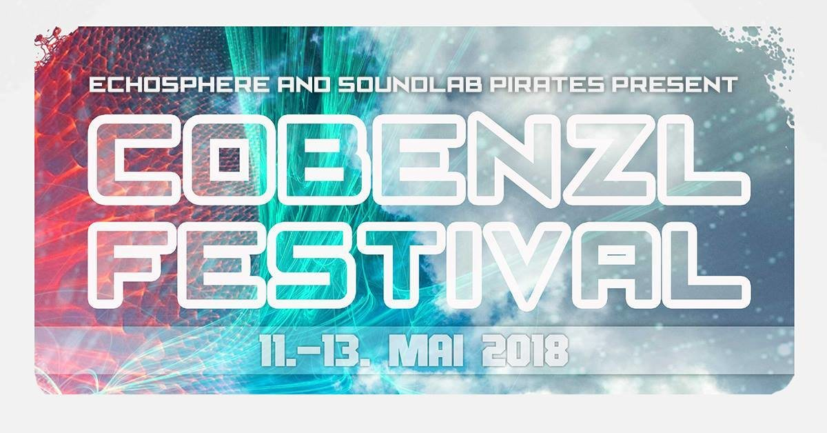 Party Flyer COBENZL FESTIVAL - pres. by Echosphere & Soundlab Pirates 11 May '18, 22:00