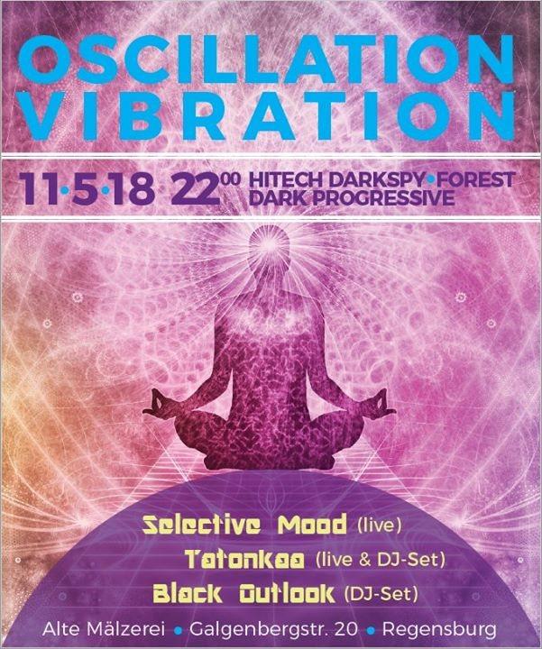 Party Flyer Oscillation Vibration 11 May '18, 22:00
