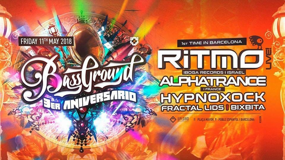 Party Flyer RITMO in BARCELONA ! 11 May '18, 23:30