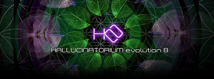 Party Flyer Hallucinatorium Evolution 8 12 May '18, 23:00