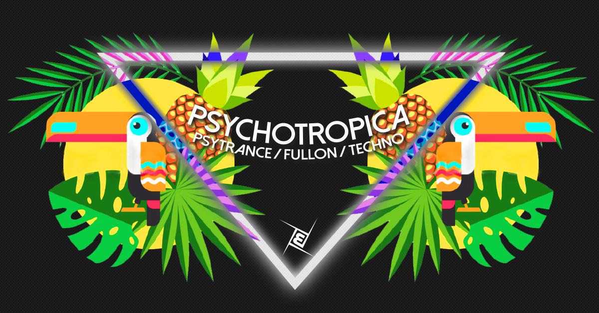 Party Flyer Psychotropica Prog/Psytrance & Techno 5€ bis 0 12 May '18, 22:00