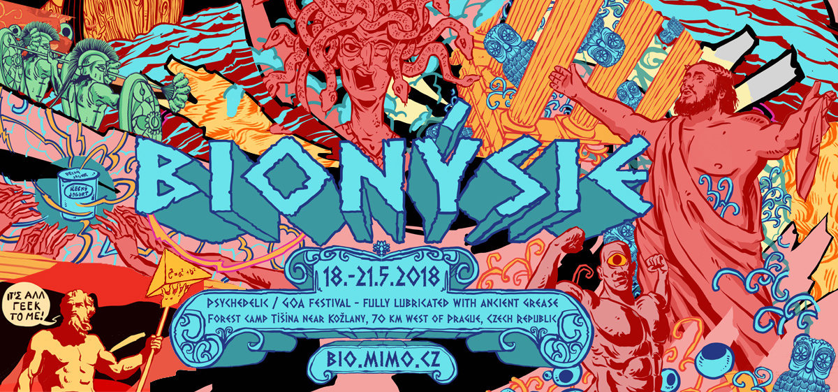 Party Flyer BIONYSIE 18 May '18, 19:00