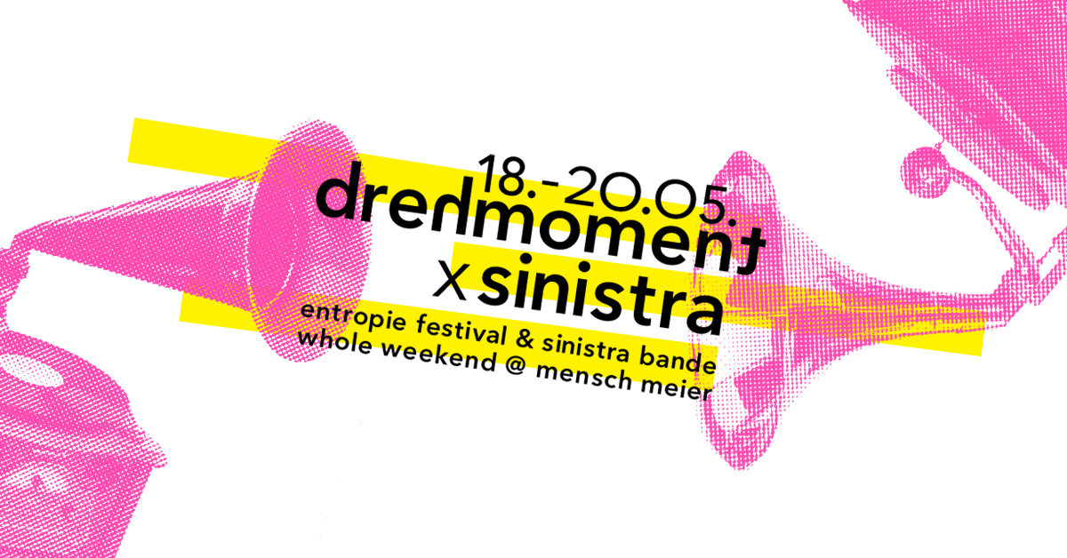 Party Flyer drehmoment x sinistra 18 May '18, 21:00