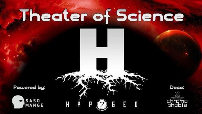 Party Flyer DMK: Theater of Science w/ HYPOGEO 19 May '18, 20:00