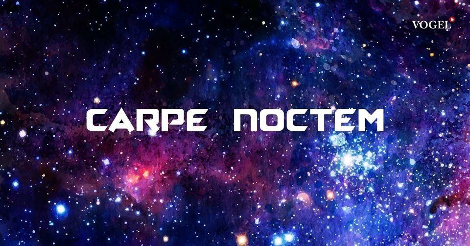 Party Flyer Carpe Noctem! ***Zeamoon live*** FUNKTION ONE SOUNDSYSTEM!!! 20 May '18, 23:00