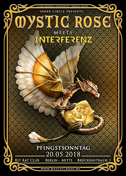 Party Flyer The Mystic Rose meets Interferenz 20 May '18, 23:00