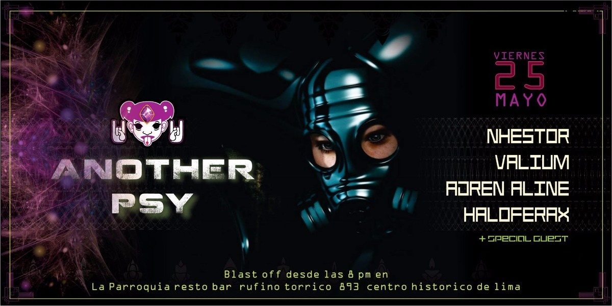 Party Flyer ANOTHER PSY 25 May '18, 21:00