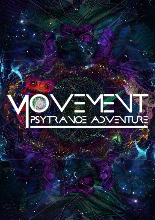 Party Flyer Movement Psytrance Adventure 25 May '18, 21:00