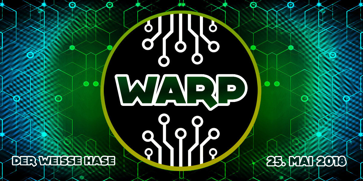 Party Flyer Warp - Out Of Range! 25 May '18, 23:30