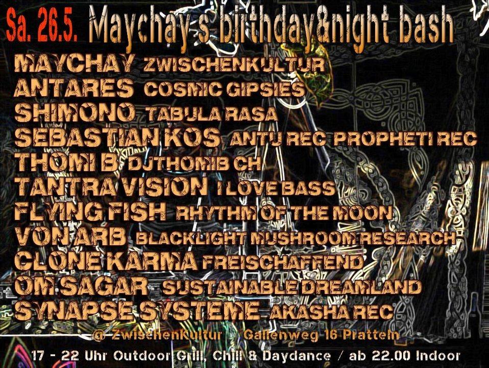 Maychay`s birthday&night bash 26 May '18, 17:00