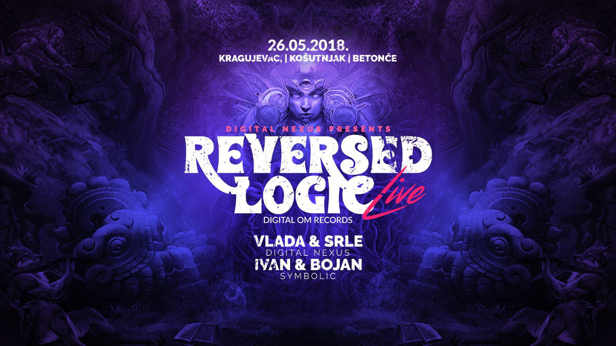 Party Flyer Reversed Logic LIVE !!! Kragujevac,Serbia 26 May '18, 21:00
