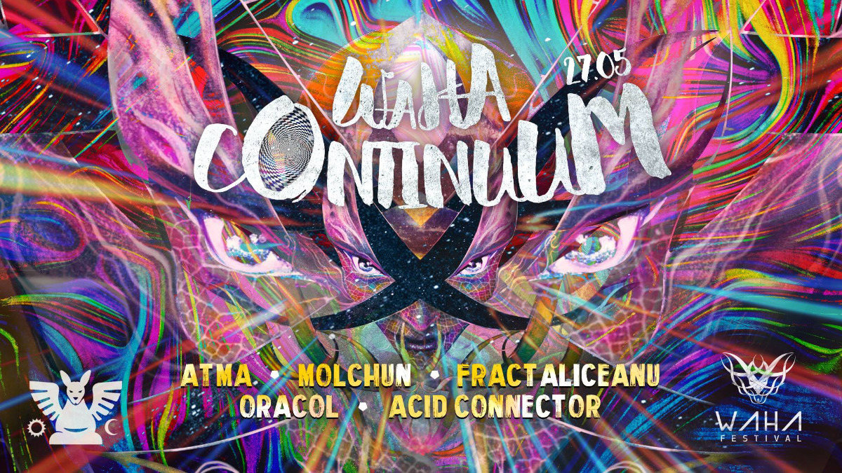 Party Flyer Waha Continuum 27 May '18, 23:00